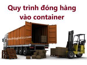 Quy trình đóng hàng vào container